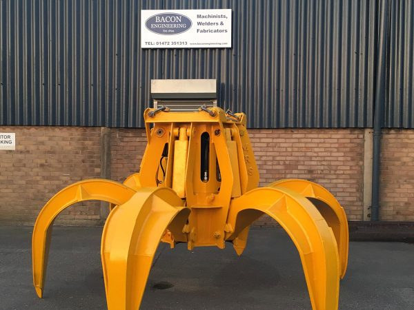 Fabricated Crane Claw Engineering
